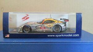 Spark 1:43 US008 - SRT Viper GTS-R 12h Sebring 2014 Team SRT Motorsports #93