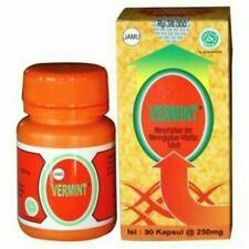 2 boxs Vermint Original Earthworm Extract Capsules Typhoid Typhus Medication