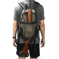 Tourbon Tactical Hunting Backpack Molle Bag Rifle/Shotgun Holder Camping in USA