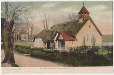St. Agnes Church Freshwater, Isle of Wight F.G.O. Stuart 1578 Postcard B800