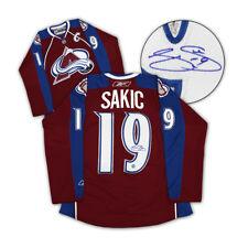 924faed2e Joe Sakic Colorado Avalanche Autographed Reebok® Premier Hockey Jersey