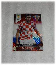 2014 Panini Prizm World Cup Red Blue Plaid Darijo Srna - Croatia #117