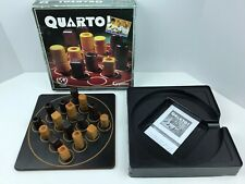 Quarto Wood Game Gigamic COMPLETE 1991 Clean