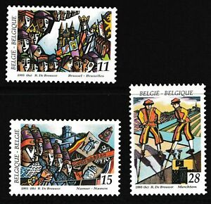 Belgium 1993 Folklore Festivals - MNH Set - Cat £5 - (45)