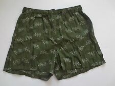 Banana Republic Green X vs O Boxer Shorts 100% Cotton - Size S - NWT