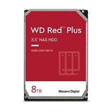 WD Red Plus NAS 8TB, SATA 3, 3,5 Zoll Interne Festplatte (WD80EFBX)