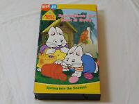 Nick Jr Max & Ruby Springtime for Max & Ruby VHS Video Tape 2005 Paramount