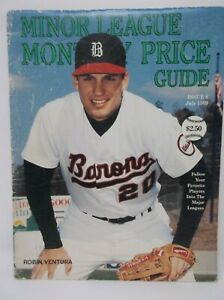 Beckett Minor League Monthly Price Guide July 1989 ROBIN VENTURA