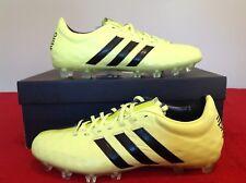 Adidas Adipure PRO11TRX Fg Cuir Chaussures De Football UK 6 Noir/Jaune