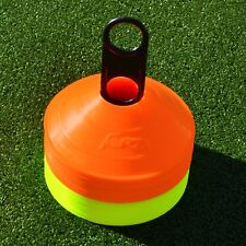 Training Marker Cones & Stand [50 QTY] Football Cones - UK Seller/24hr Ship