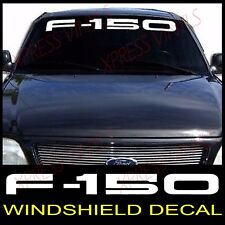 FORD F-150 Windshield Window Vinyl Decal Sticker Custom Vehicle Logo WHITE 40""