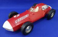 Vintage 1963 V-RROOM Friction Race Car Made by Mattel