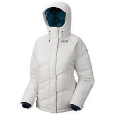 New Mountain Hardwear Snowdeo Down Coat 650 Down Jacket Women's White Large $325