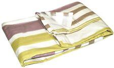 2 Pcs. Cortina 135 x 245 Crema Blanca Lila Verde Bufanda de cortina opaco NUEVO