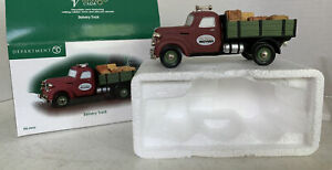 Dept. 56 Vintage Cars - Delivery Truck #56.59454 Excellent Pre-owned Condition