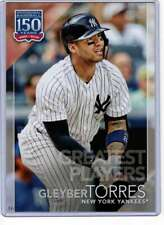 Gleyber Torres 2019 Topps Update 150 Years of Professional Baseball 5x7 #150-19