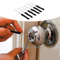 12pcs Professsional Broken Key Extractor Tools Removal Remove Hooks Lock Kit Set
