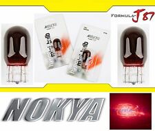 Nokya Light 7443 Red 21/5W Nok5203 Two Bulbs Front Turn Signal Replace Lamp OE