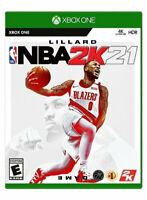 NBA 2K21 XBOX ONE Brand New Factory Sealed Free Shipping