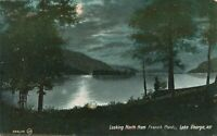 LAKE GEORGE NY – Looking North from French Point – Adirondack Mountains