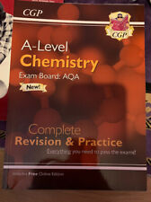 CGP AQA A Level Chemistry Complete Revision & Practice.