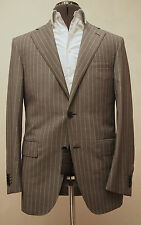 NWT $1,595 CC Brothers by Corneliani Two Button 140's Wool Gray Suit 38/48