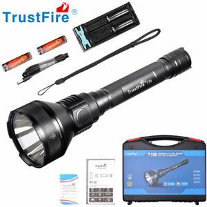 TrustFire T70 de 2300 lúmenes LED Linterna de caza 1000M Wbatería 18650 Cargador