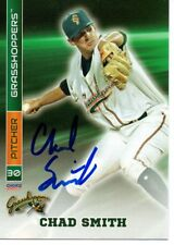 Chad Smith 2017 Greensboro Grasshoppers Signed Card