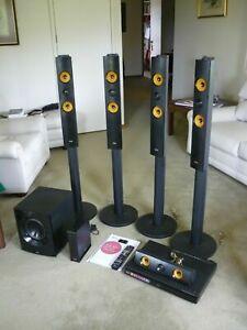 LG 5.1ch 3D Blu-ray Home Theatre System BH7540 W/ Wireless Rear Speakers & Wi-Fi