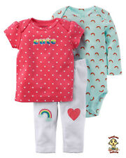 Carter's 3-piece Rainbow Set 3mos Authentic & Brand New