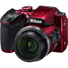 Nikon COOLPIX B500 16MP Digital Camera Red 2016 ZP