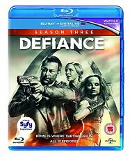 Defiance Complete Series 3 Blu Ray All Episodes Third Season UK Release R2 NEW