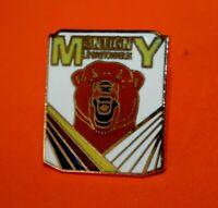 pin's lapel pin pins Ville TOURISME Montigny-le-Bretonneux OURS BRUN BEAR  EGF