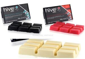 HIVE Sensitive HOT FILM DEPILATORY WAX Hard Wax Block Waxing Hair Removal - 500g