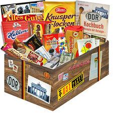 Für nOstalgiker DDR SÜSSIGKEITEN BOX Ostpaket Geschenkset Präsentkorb 2926