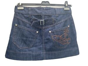 Vivienne Westwood Denim Skirt Orb Logo Japan