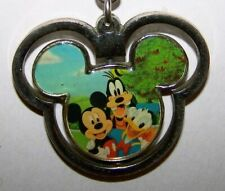 COLLECTIBLE KEYCHAIN - METAL DISNEY MICKEY MOUSE SPINNING EARS KEY CHAIN 1.5 X 2