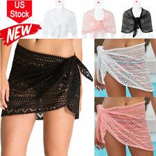 Hot! Women's Swimsuit Cover Up Sarong Bikini Swimwear Beach Cover-Ups Wrap Skirt
