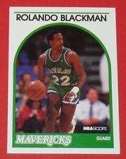 # 20 ROLANDO BLACKMAN MAVERICKS DALLAS 1989 NBA HOOPS BASKETBALL CARD