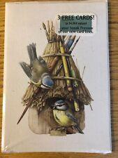Vintage HALLMARK PREVIEWSet Of 3 Cards MARJOLEIN BASTIN 1994 NATURES SKETCHBOOK