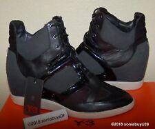 Adidas Women's Y-3 Sukita Fashion Sneakers, G63706, Black, US Size 10