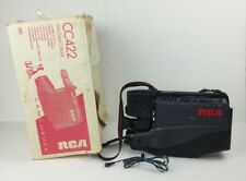 Rca Camcorder Dsp3 Vhs Model Cc422 Vintage Black Handheld For Parts Not Working