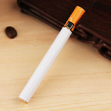 2017 Windproof Jet Flame Cigarette Shaped Refillable Butane Gas Cigar Lighter Q