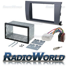 Suzuki Swift Double Din Fascia Panel Adapter Plate Cage Fitting Kit DFP-33-02 ..