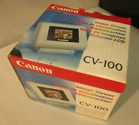 Canon CV-100 Image Viewer Display Attachment for Photo Printers - NEW!