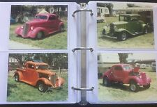 "132) KODAK 4.5"" x 5.5"" Photo's Vintage Classic Cars & Vans 1980-1990 car shows"