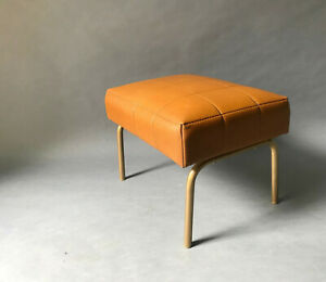 chaise tabouret airborne 1950s midcentury assise deco french 50 ottoman