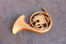 Wall hanging French Horn Vintage Estate Mid Century Decor Gift Musician Homco Fx