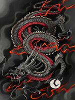 5D Full drill Diamond Painting Cartoon Chinese Dragon Fashion Handicraft 7003M