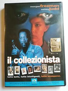 IL COLLEZIONISTA DVD COME NUOVO Morgan Freeman Ashley Judd WIDESCREEN